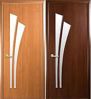 """Двери """"Лилия"""" (полотно МДФ ламинированное со стеклом)"""