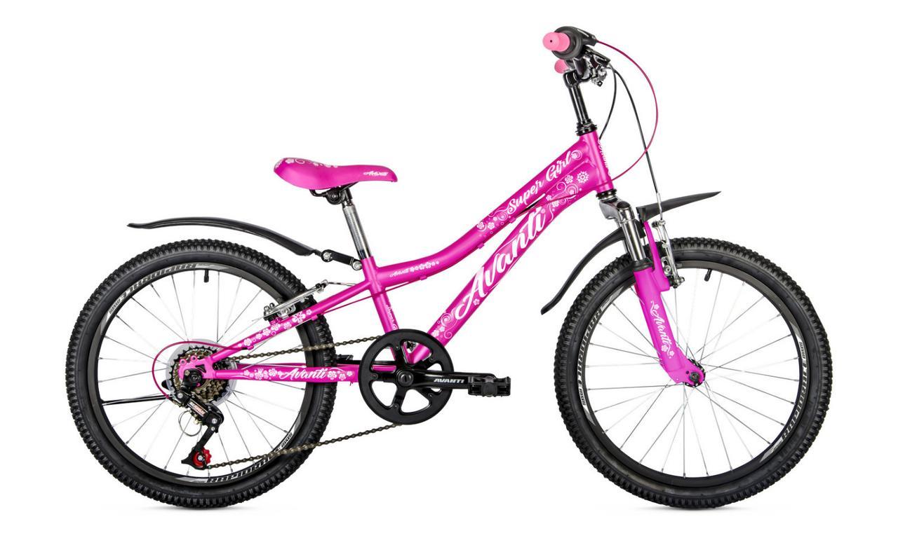 Велосипед 20 Avanti Super Girl v-brake steel