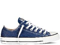 Кеды Converse All Star Navy Low синие текстиль низкие оригинал, фото 1