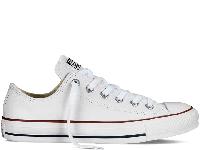 Кеди Converse All Star Optical White Leather Low білі текстиль низькі оригінал