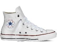 Чоловічі кеди Converse All Star Optical White Leather High