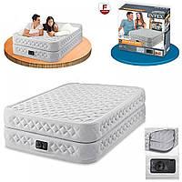 Надувная велюр-кровать INTEX  (152*203*51 см), фото 1