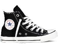 Кеди Converse All Star Black High чорні текстиль високі оригінал