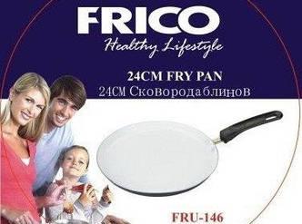 Сковорода для блинов с керамическим покрытием Frico FRU-146 24 см