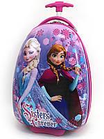 """Детский чемодан дорожный на колесах """"Josef Otten"""" Холодное Сердце-2, Frozen, 520259"""