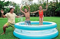 Детский надувной бассейн Intex Морская волна 203x51 см