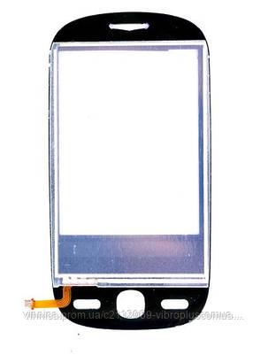 Тачскрин (сенсор) Alcatel OT-890, One Touch 890D, black (чёрный), фото 2