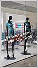 Манекены высокие женские чёрные, фото 5