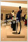 Манекены высокие женские чёрные, фото 4