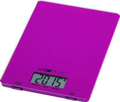 Весы кухонные Clatronic KW 3626 Glas blackberry