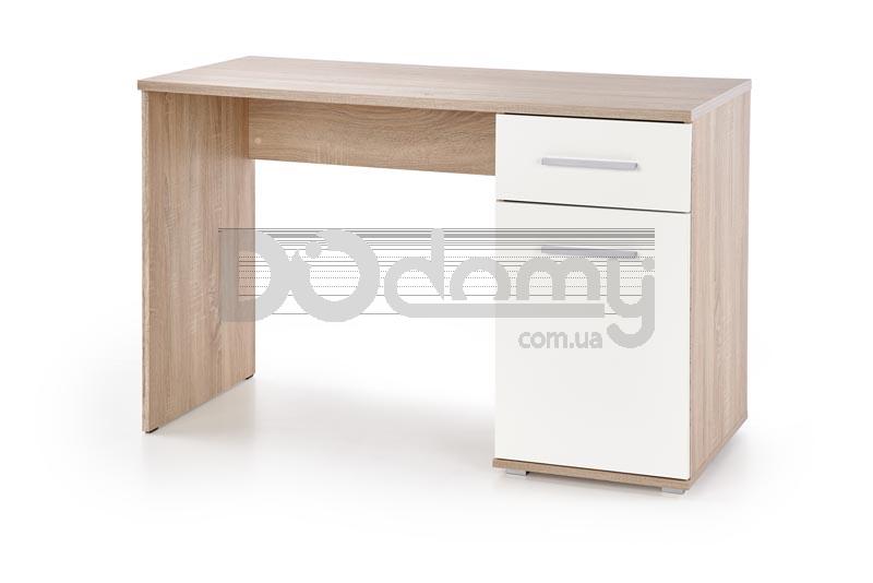 Стол LIMA B-1 biurko Halmar Дуб сонома / Белый