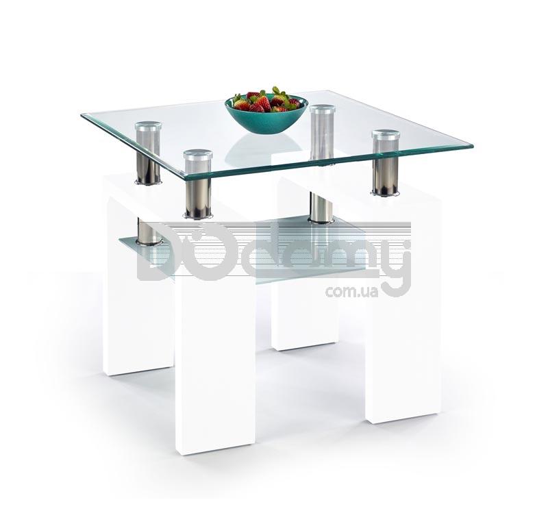 Журнальный стол DIANA H Белый лакованный halmar