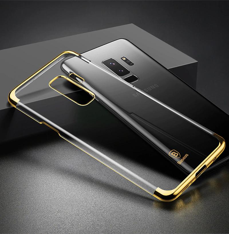 Чехол для Samsung S9 Glitter Gold Baseus