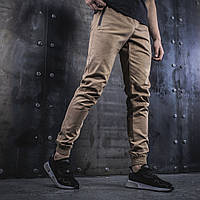 Мужские штаны Джоггеры BEZET Casual sand '19 писочные, фото 1