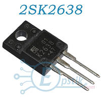 2SK2638, MOSFET транзистор N канал, 450В, 10А, TO220F