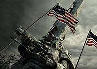 Картина GeekLand Fallout Фаллаут флаг 60х40 FL 09.019