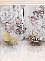 Фотошторы цветы (30986_4_1)
