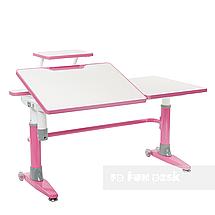 Комплект подростковая парта для школы Ballare Pink + ортопедическое кресло Buono Pink FunDesk , фото 2