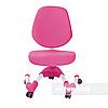 Комплект подростковая парта для школы Ballare Pink + ортопедическое кресло Buono Pink FunDesk , фото 3