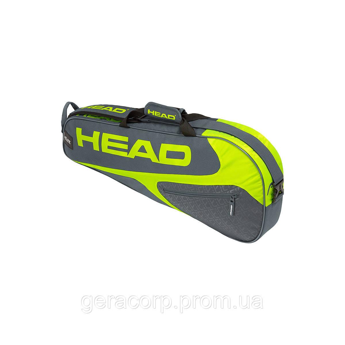 Чехол Head Elite 3R pro grey/neon yellow