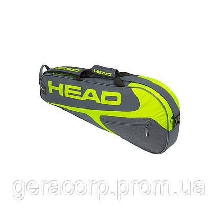 Чехол Head Elite 3R pro grey/neon yellow, фото 2