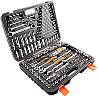 """Набор инструмента Neo Tools 1/2"""", 1/4"""", 3/8"""" 150 шт. 08-668, фото 1"""