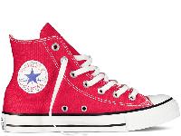 Кеди Converse All Star Red High оригінал червоні високі текстиль