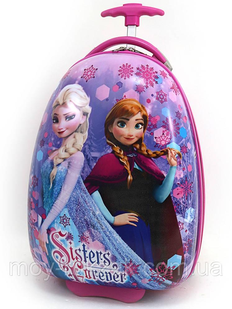 """Детский чемодан дорожный на колесах """"Josef Otten"""" Холодное Сердце-2, Frozen"""
