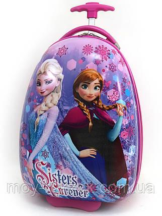 """Детский чемодан дорожный на колесах """"Josef Otten"""" Холодное Сердце-2, Frozen, фото 2"""