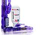 Женский вибратор с клиторальным стимулятором и лубрикантом 36 режимов Фиолетовый, фото 2