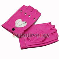 Перчатки для водителей женские розовые
