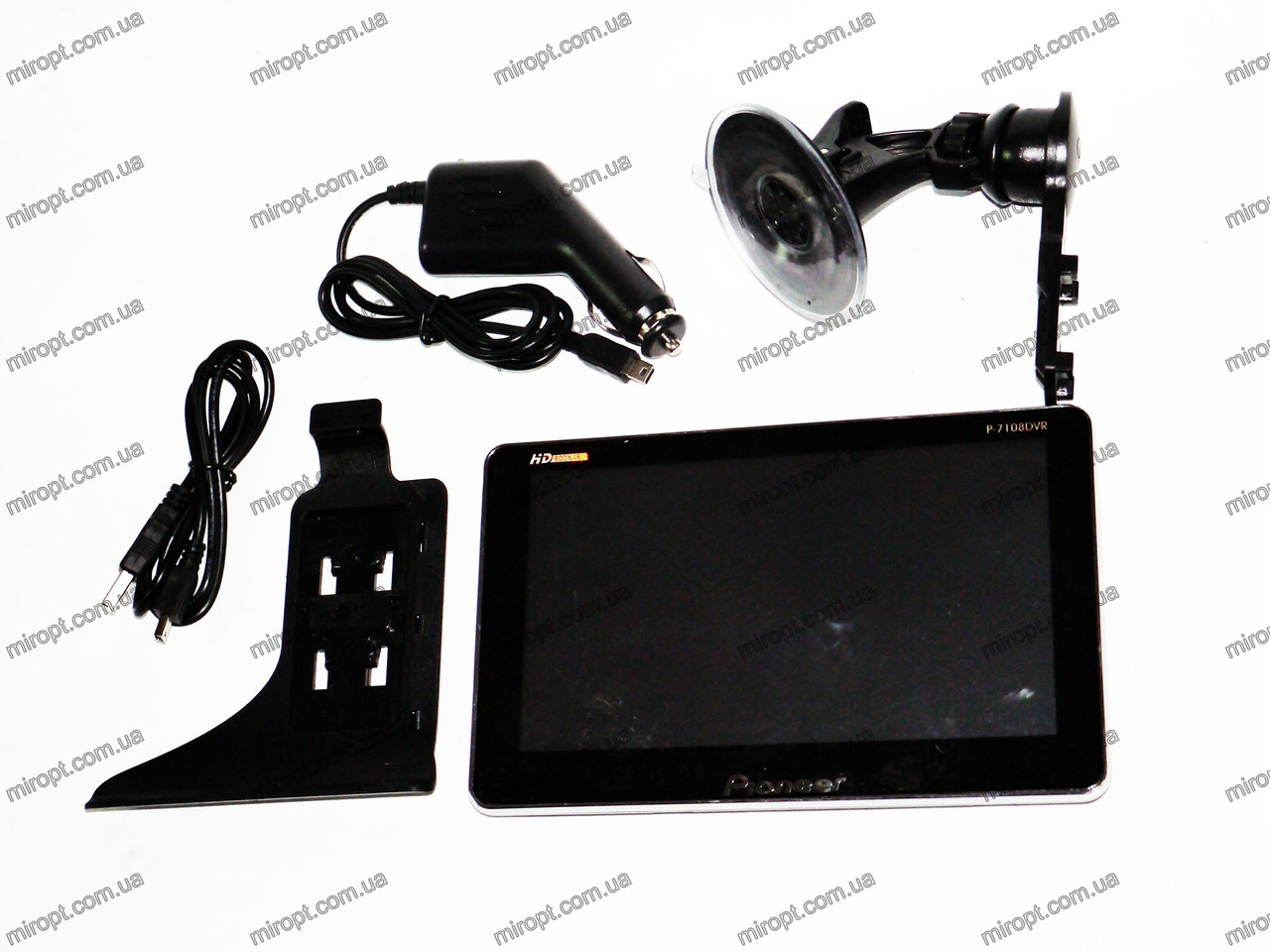 GPS навигатор Pioneer G7108 DVR+видеорегистратор + Bluetooth + 4gb