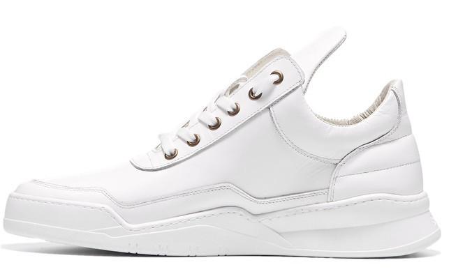 680476ea Кроссовки мужские кожаные белые BASTION 19301б - интернет-магазин