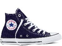 Converse All Star Midnight Indigo High оригінал сині текстиль високі