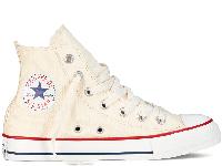 Жіночі кеди Converse All Star Natural White High оригінал бежеві високі