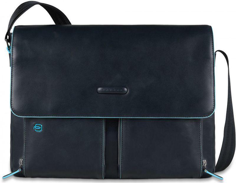 Кожаная сумка Piquadro Blue Square CA3337B2_BLU2, синий