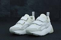 Кроссовки женские Stella McСartney реплика ААА+ размер 37-41 белый (живые фото), фото 1
