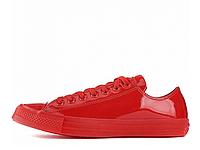 Мужские Converse All Star Patent Ice Red Low оригинал красные глянец низкие, фото 1