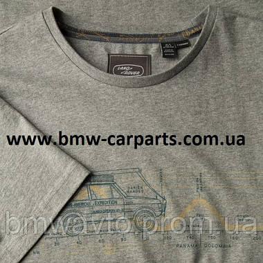 Мужская футболка Land Rover Men's Heritage Graphic Tee, фото 2