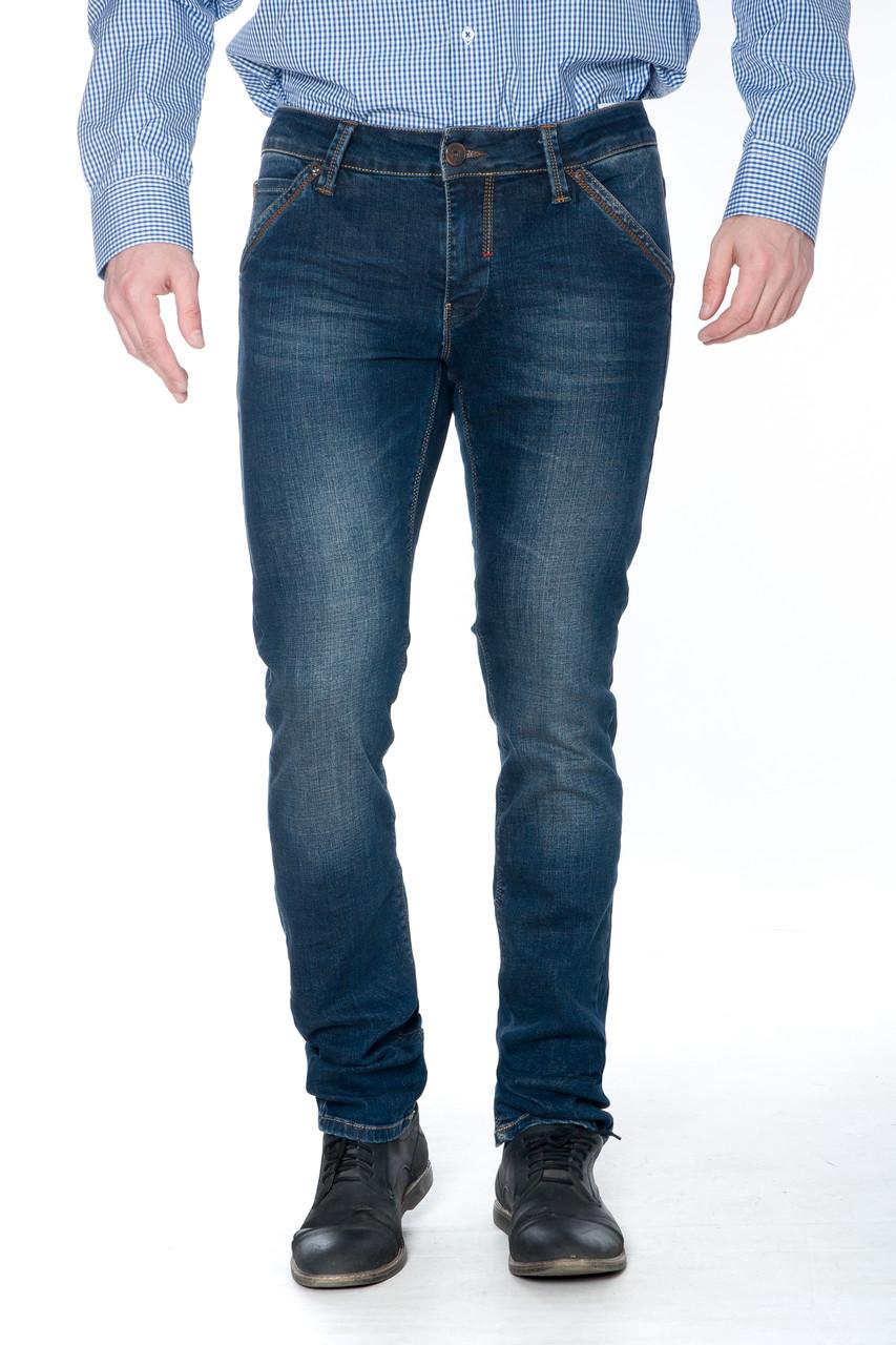 Зауженные джинсы Franco Benussi 15-346 синие
