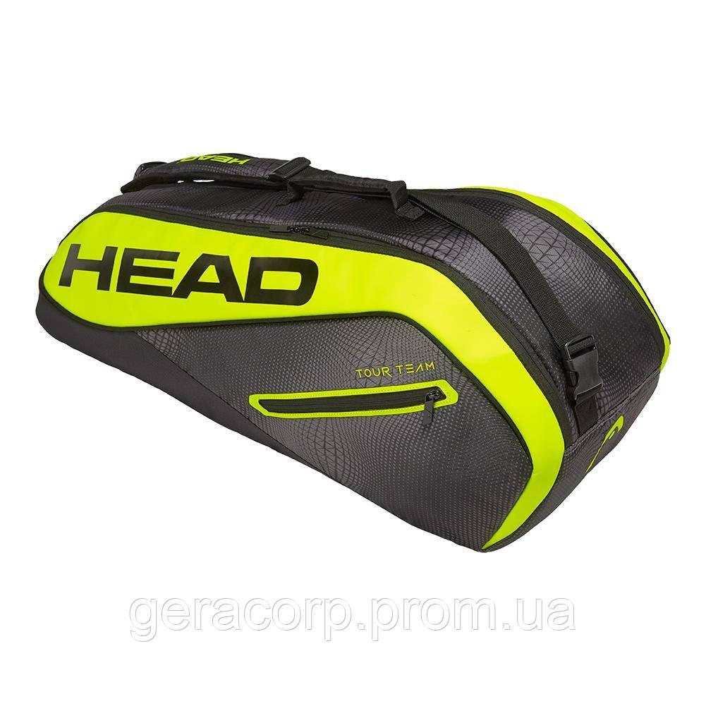 Чехол Head Core 6R combi black/neon yellow