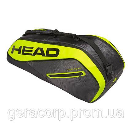 Чехол Head Core 6R combi black/neon yellow, фото 2