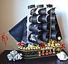 """Корабль из конфет """"Дерзкий Пират"""""""