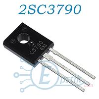 2SC3790, транзистор биполярный PNP, 300В, 100мА, TO220