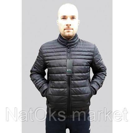 Mужская куртка короткая (весна - осень) черный