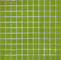 Мозаика прозрачное стекло Vivacer одноцвет 2,5*2,5 B012