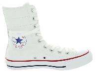 Жіночі Converse All Star Optical White High-Rise оригінал білі високі текстиль