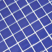 Мозаика прозрачное стекло Vivacer одноцвет 2,5*2,5 B028