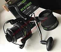Котушка Carp Pro One BlackPool Carp 7000 FS (8+1) з Нескінченним гвинтом і Байтранером