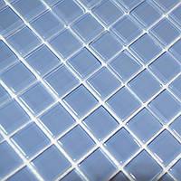 Мозаика прозрачное стекло Vivacer одноцвет 2,3*2,3 B030